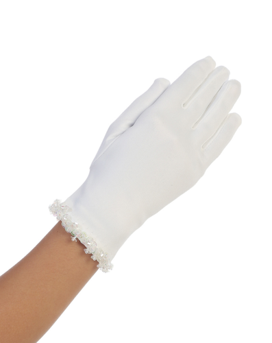Tip Top - Sequin Trim Glove
