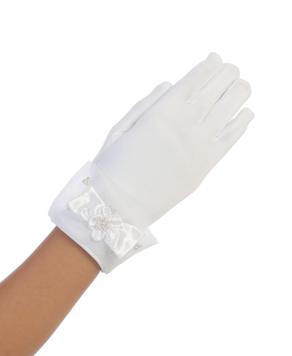 Tip Top - Sheer Cuff with Bow Glove