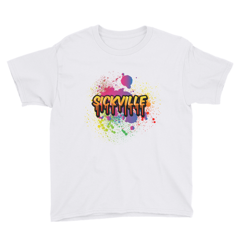 Sickville Paint Splatter Youth T-Shirt