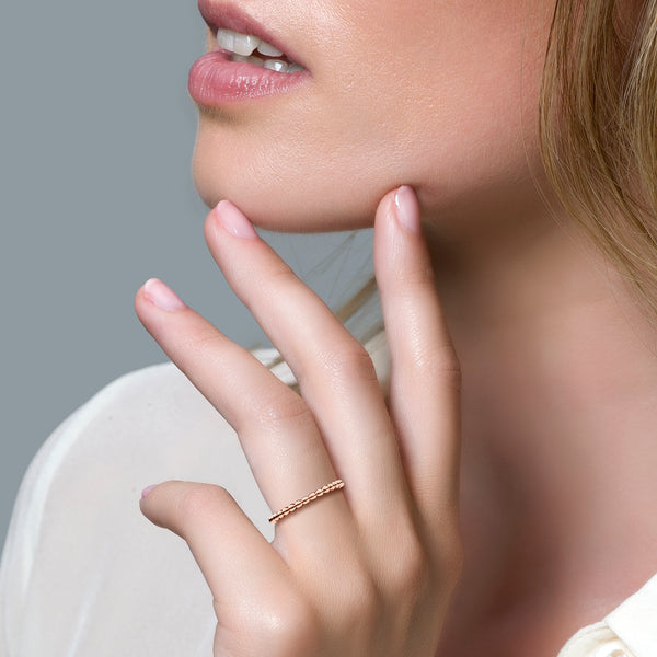 Blush Ring 1105RGO -  Rosé Goud (14Krt.)
