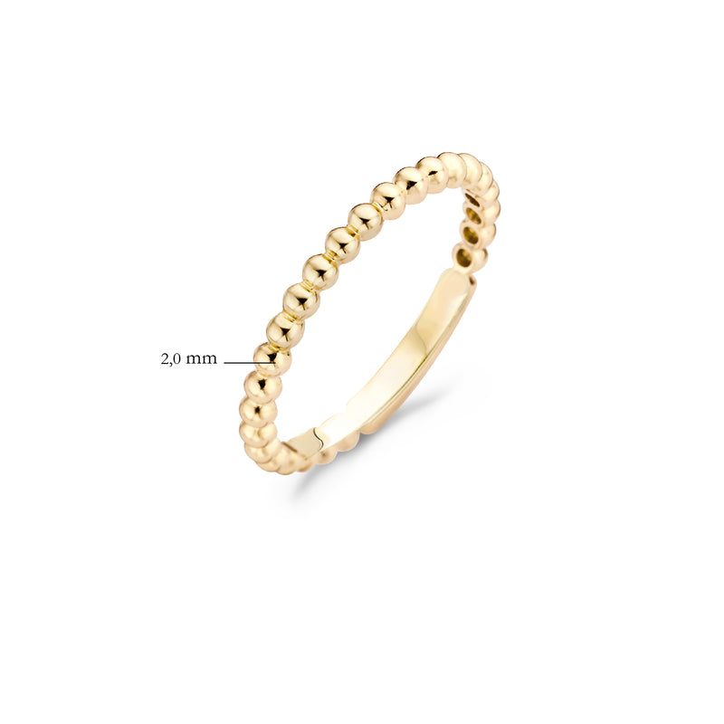Blush Ring 1105YGO -  Geel Goud (14Krt.)