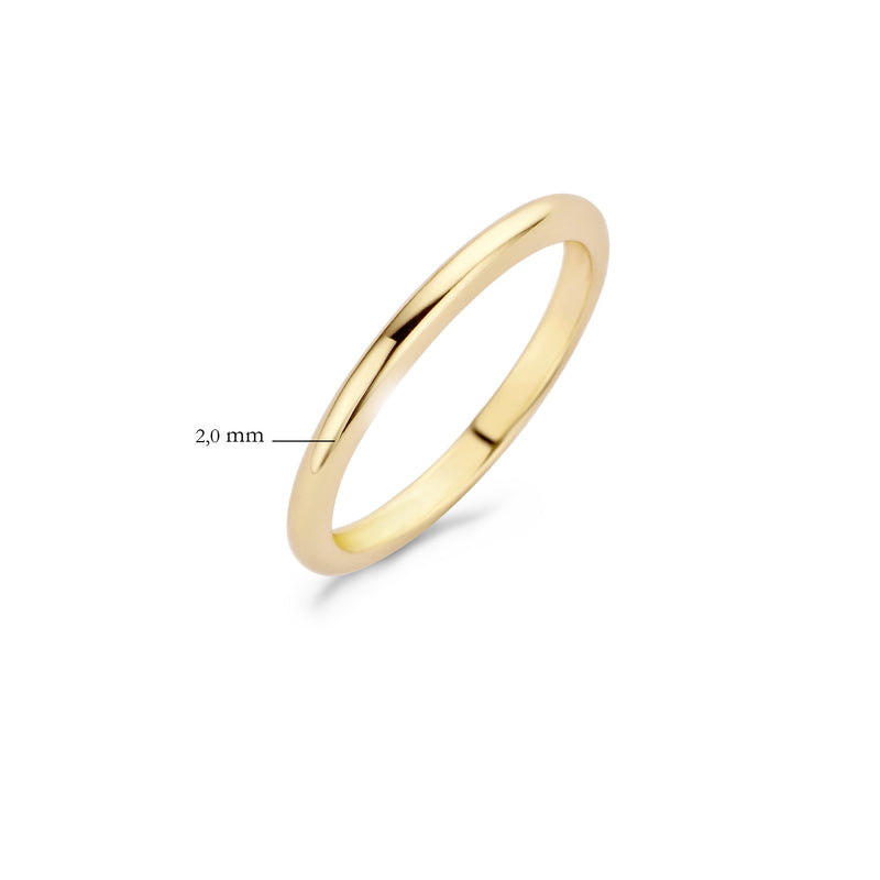Blush Ring 1117YGO -  Geel Goud (14Krt.)