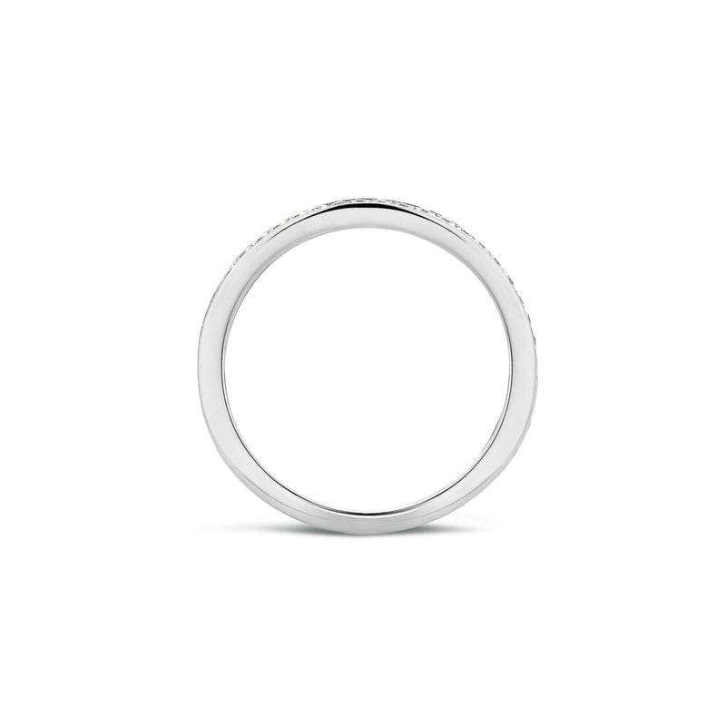 Blush Ring 1119WZI -  Wit Goud (14Krt.) met Zirconia