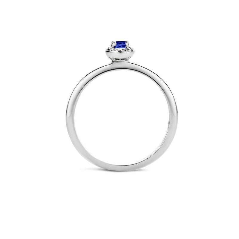 Ring 1131WSA -  White Gold (14Crt.) with Zirconia
