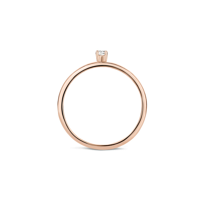 Ring 1200RZI - Rose goud (14Krt.)