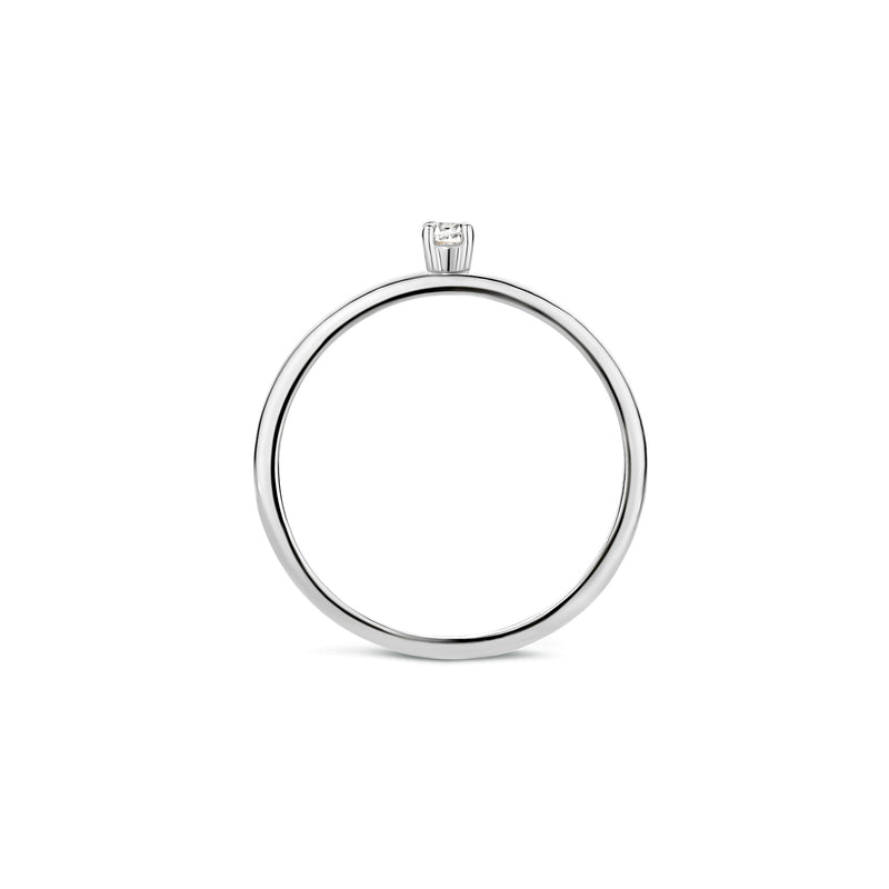 Blush Ring 1200WZI - Wit Goud (14Krt.)