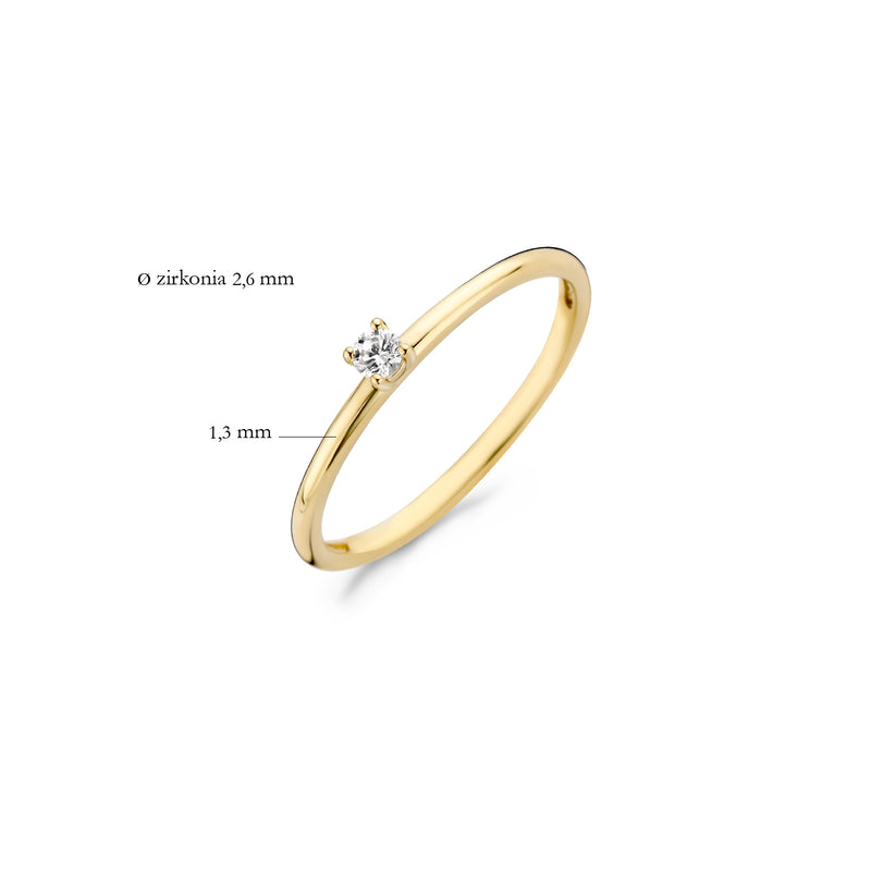 Blush Ring 1200YZI - Geel Goud (14Krt.)