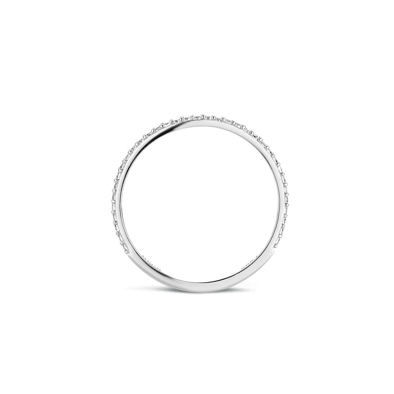 Ring 1201WZI - Wit Goud (14krt.)