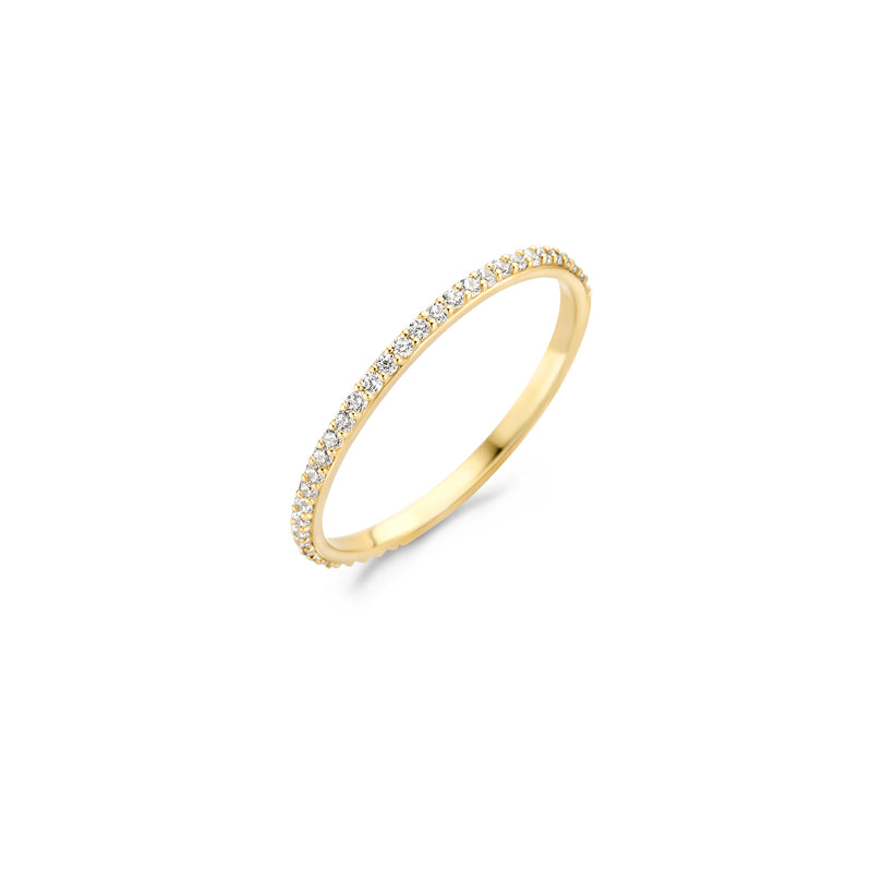 Ring 1201YZI - Yellow gold (14Crt.)
