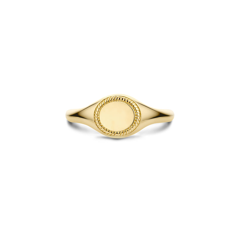 Blush Ring 1206YGO - Geel Goud (14krt.)