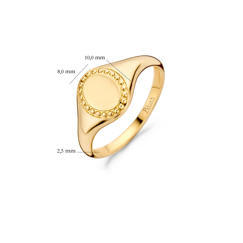 Blush Ring 1205YGO - Goud (14Krt.)