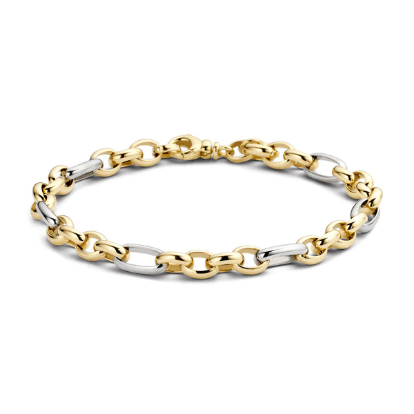 Bracelet 2170BGO - Gold and White Gold  (14Crt.)