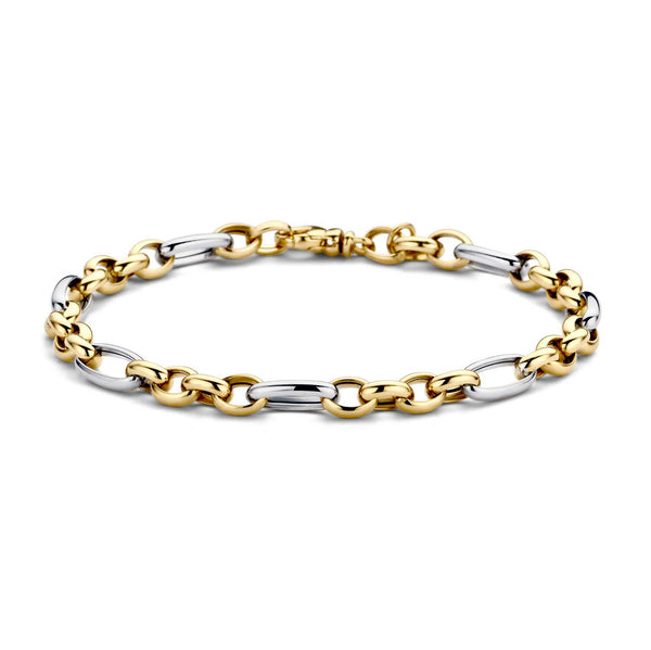 Bracelet 2177BGO - Yellow and white gold (14crt.)