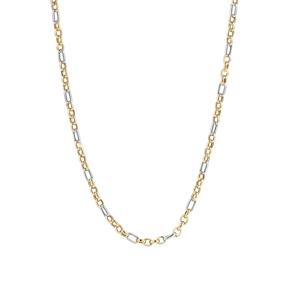 Necklace 3100BGO - Yellow and White Gold (14Crt.)