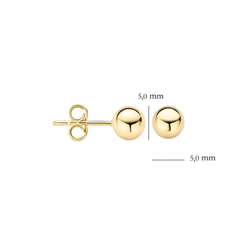 Earstuds 7122YGO - Yellow Gold (14Crt.)