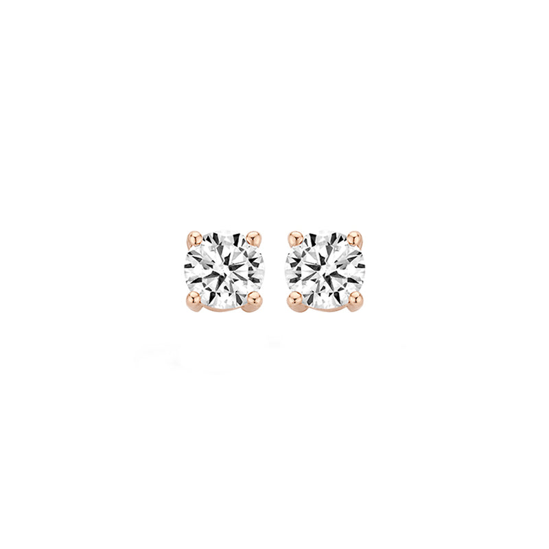 Ear studs 7213RZI - Rose Gold (14Crt.)