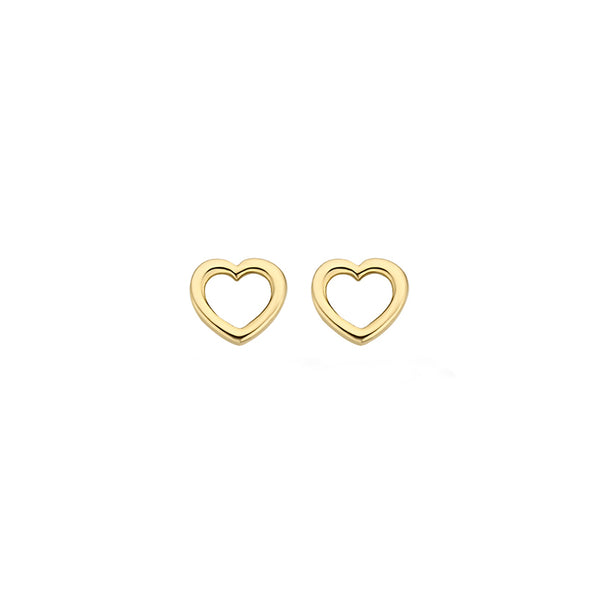 Ear studs 7246YGO - Yellow Gold (14crt.)