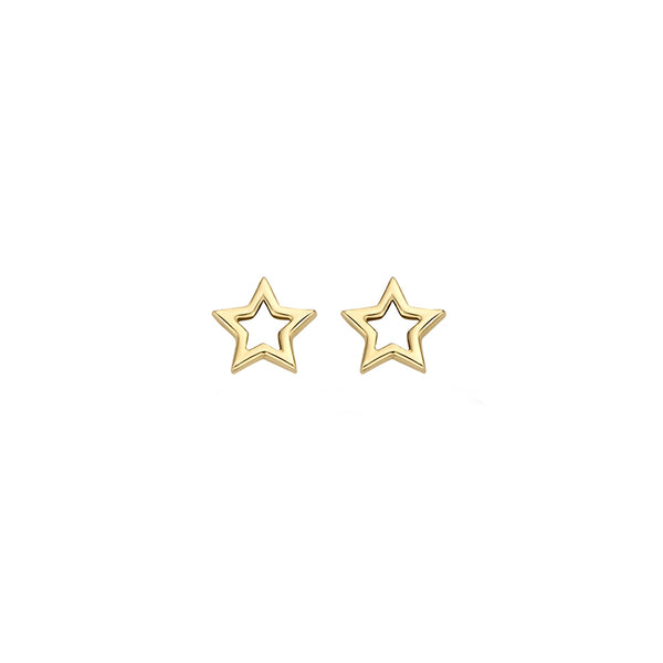 Ear studs 7348YGO - Yellow Gold (14crt.)