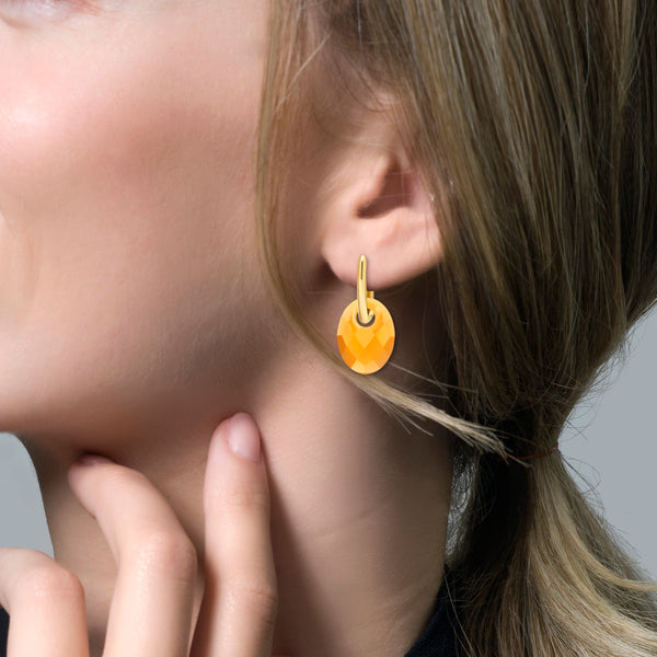 Ear Charm 810CITO - Citrine