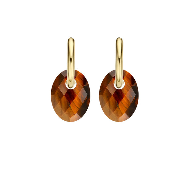 Blush Oorbedel 810TIGO - Tiger Eye