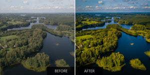 European Nature DJI Mavic Air Lightroom Presets - Pilot Presets