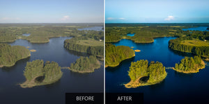 Greenery Drone Lightroom Presets - Pilot Presets