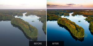 Lake And Forest DJI Phantom Drone Presets - Pilot Presets