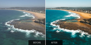 Beautiful Coast Edited With DJI Lightroom Presets - Pilot Presets