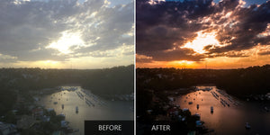 Colorful Drone Sunset Presets - Pilot Presets