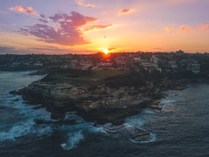 Mackenzies Point Sunset - Free Stock Photo