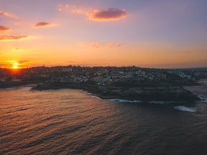 Coastal Sydney Sunset - Mackenzies Point, Tamarama Beach, Gaerloch Reserve, Marks Park