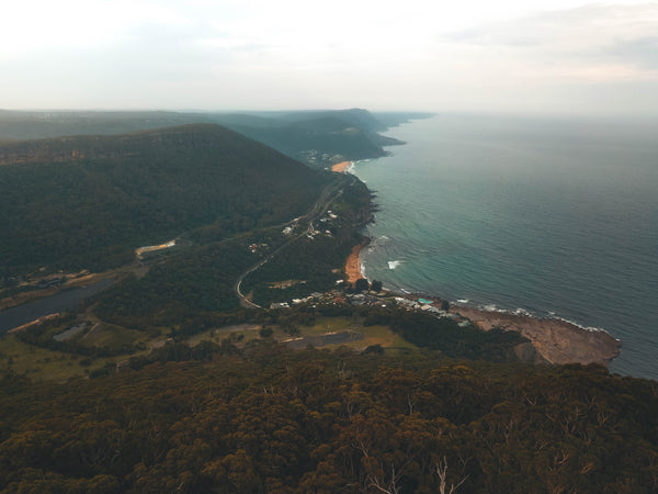 Moody shot of Coalcliff, NSW - Free Stock Photo
