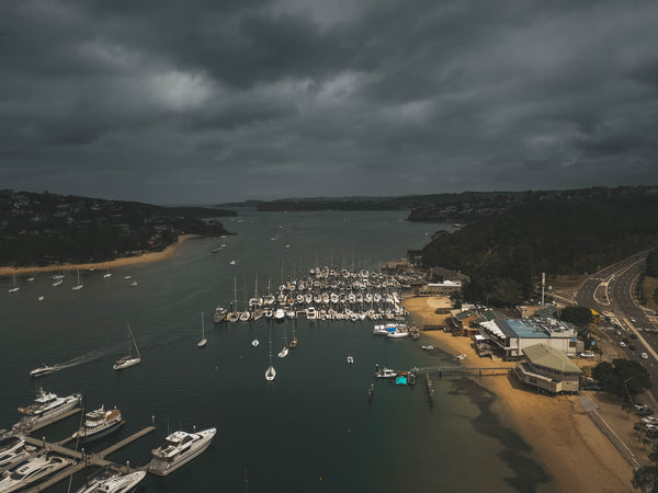 Middle Harbour Yacht Club - Sydney - Free Stock Image