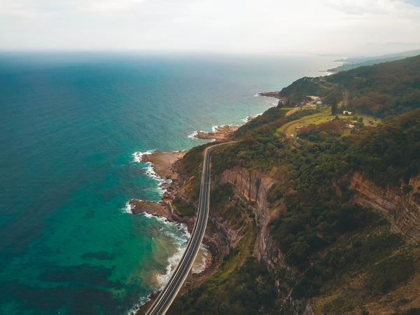 Beautiful Australian Coastline - Sea Cliff Bridge - Free Stock Photo
