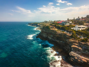 Coastal Houses on Calga Pl in Sydney, Australia - Taken close to Bronte baths