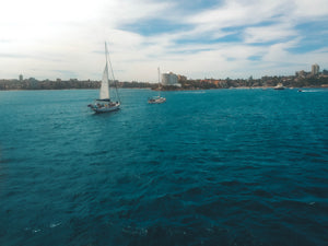 Sailboats, Ocean and Smedleys point - Sydney, NSW