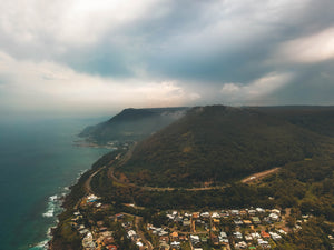 Stanwell Park - Drone Shot - Stock Image