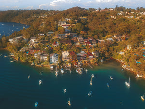Waterfront houses at Pickering Point and Sydney Harbour Marine - Sydney, NSW