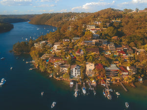 Luxury houses at Bligh Cres, Pickering Point - Sydney Australia - Free Stock Photo
