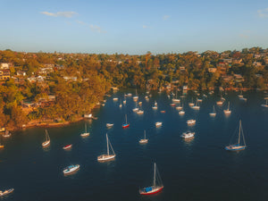 Sailboats at Peach Tree Bay, close to Sangrado Park - Free stock photo