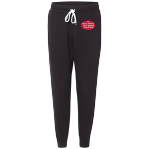 Free Beer and Hot Wings Logo - Premium Jogger Sweatpants