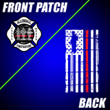 Allendale Fire: Front Patch / Red Line Flag Back