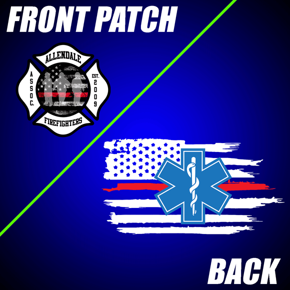Allendale Fire: Front Patch / EMT Flag Back