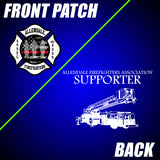 Allendale Fire: Front Patch / Supporter Truck Back