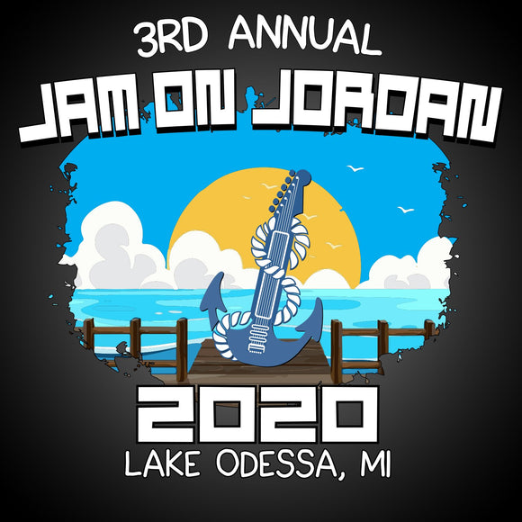 Jam on Jordan 2020. Pick up at the party July 11