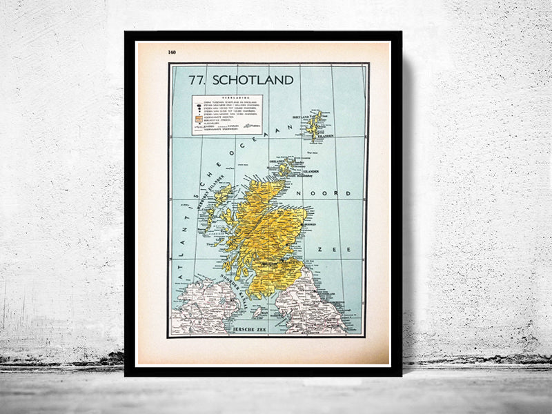 [unieke antieke & vintage landkaarten en prints] - World Of Maps & Travel