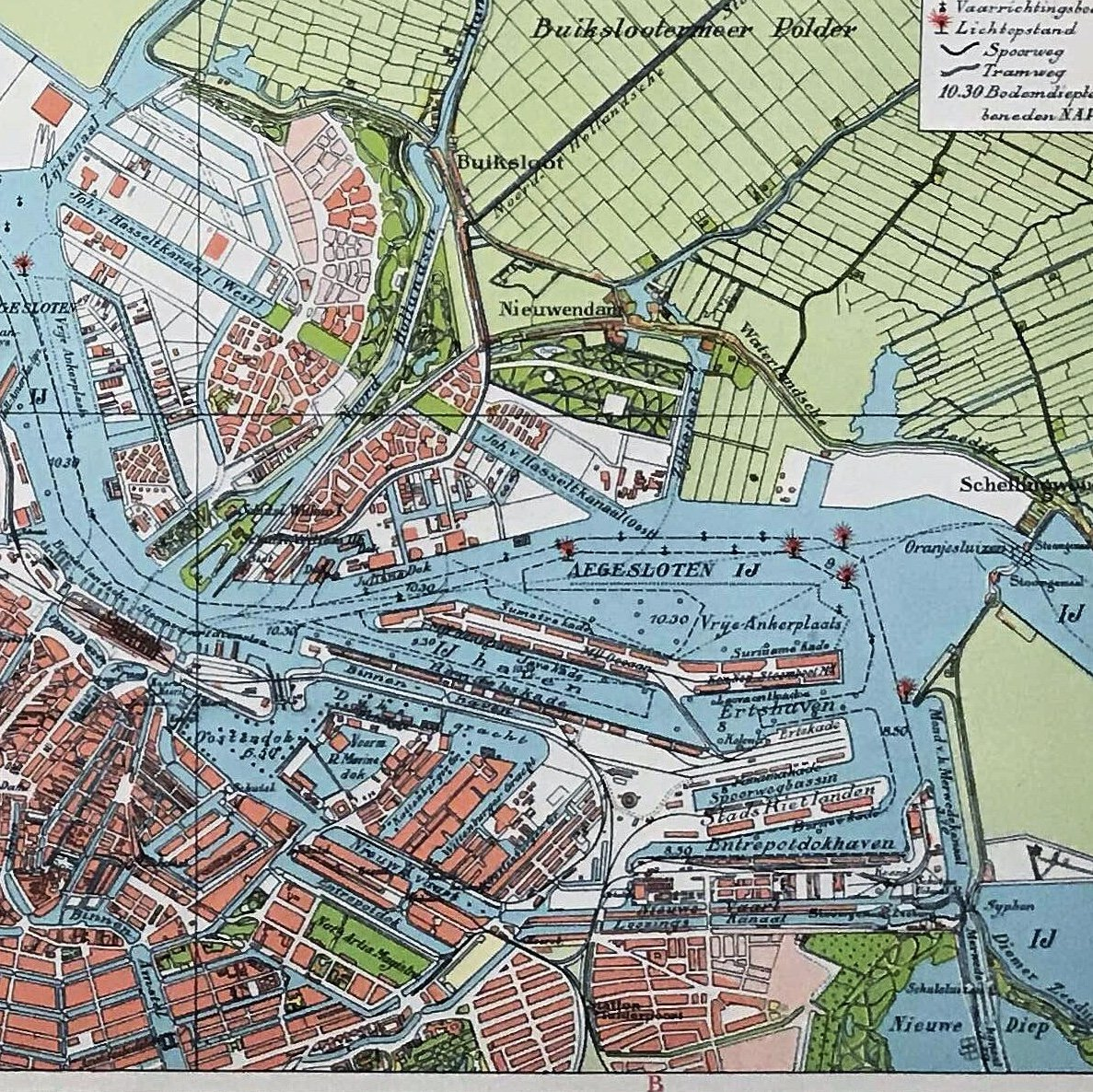 Amsterdam - 1927 - World of Maps & Travel
