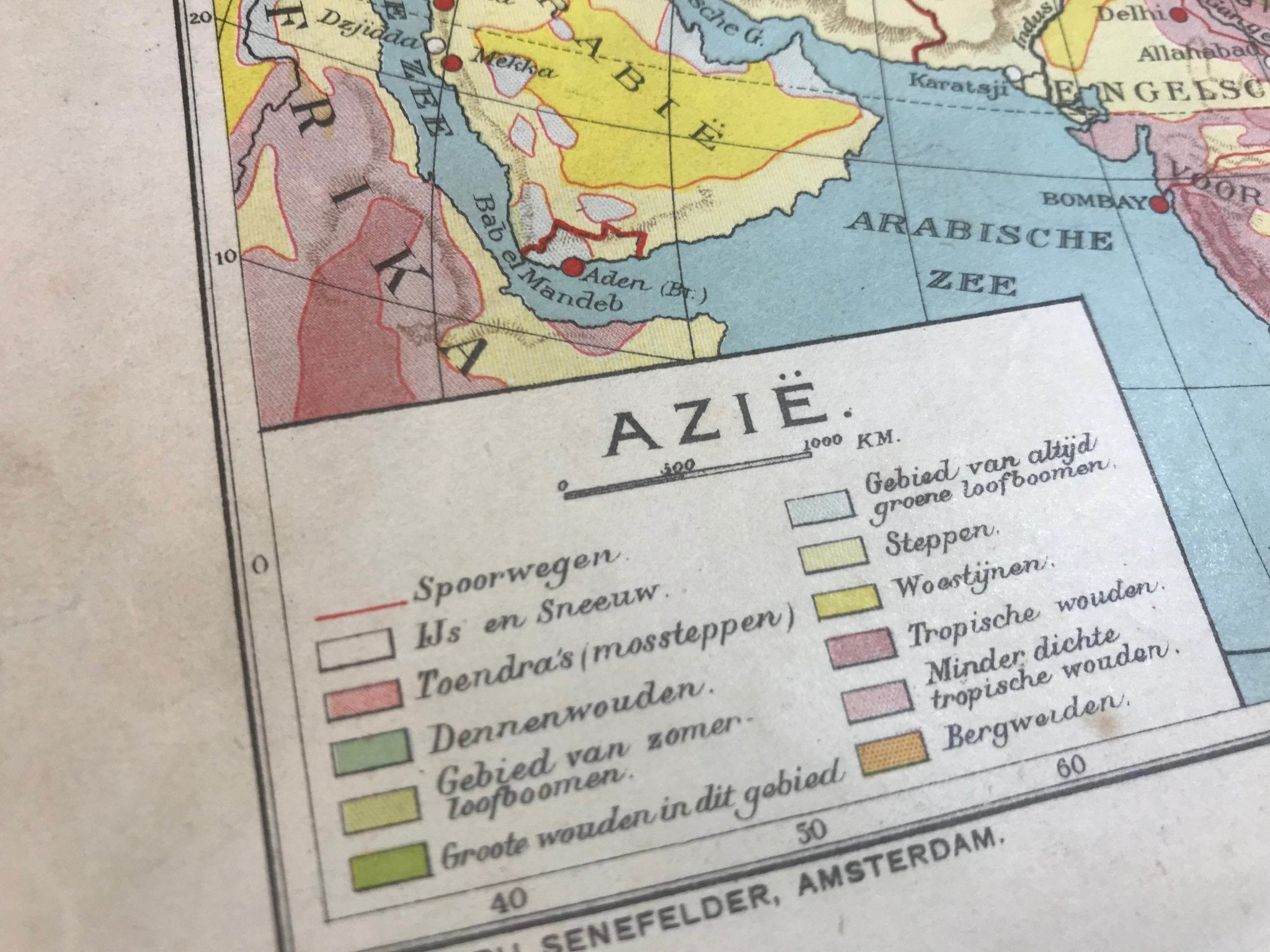 Azië - 1930 - World of Maps & Travel