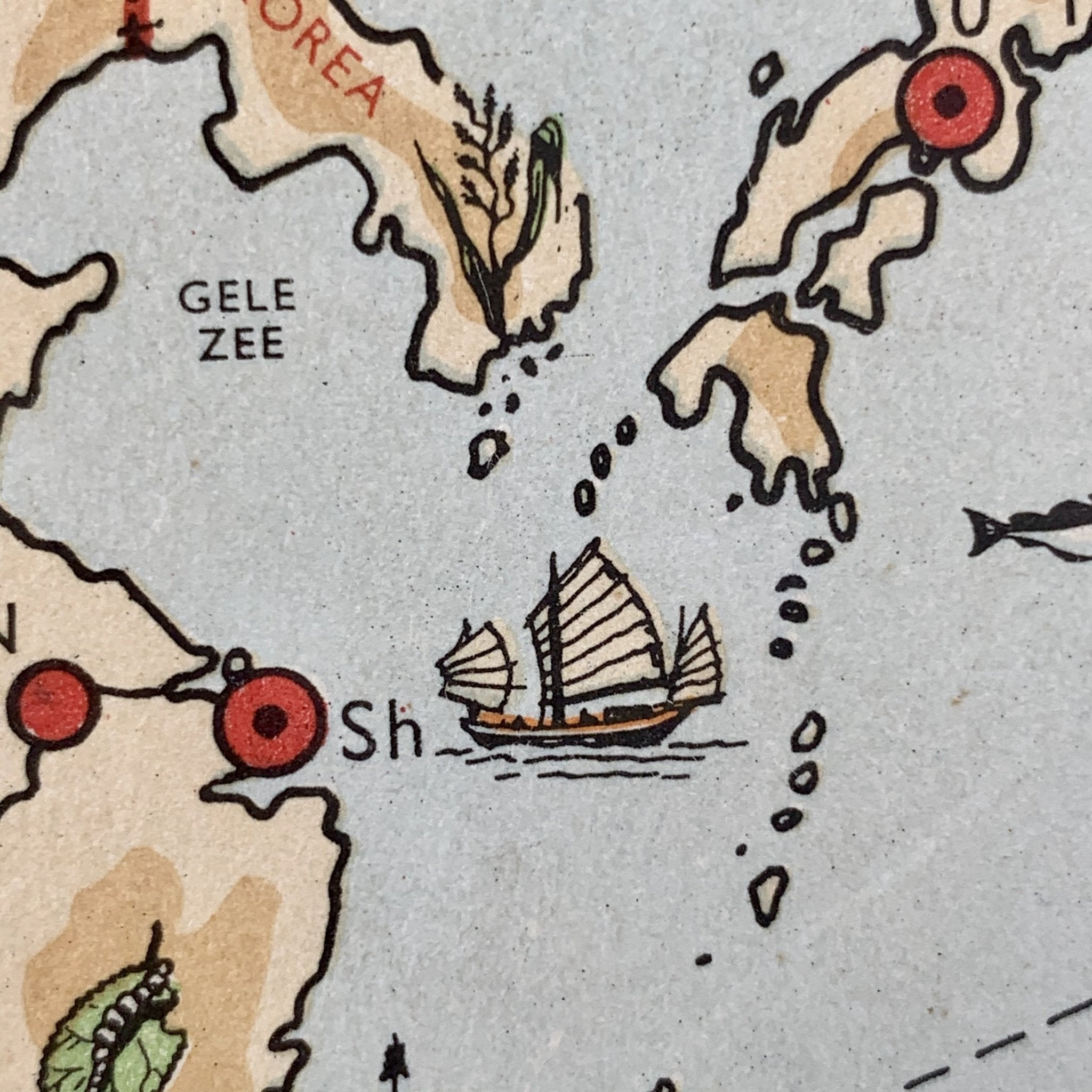 Azië - 1951 - World of Maps & Travel