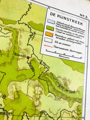 De Rijnstreek - 1930 - World of Maps & Travel